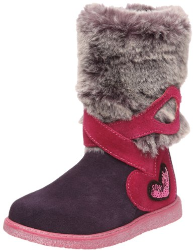 Agatha Ruiz De La Prada Veoline Girls Knee high boots B-Lila 8 UK, 25 EU