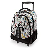 Disney ディズニー Mickey Mouse Rolling Luggage トラベル 旅行 かばん バッグ リュックサック ローラー付 ミッキーマウス ミッキー