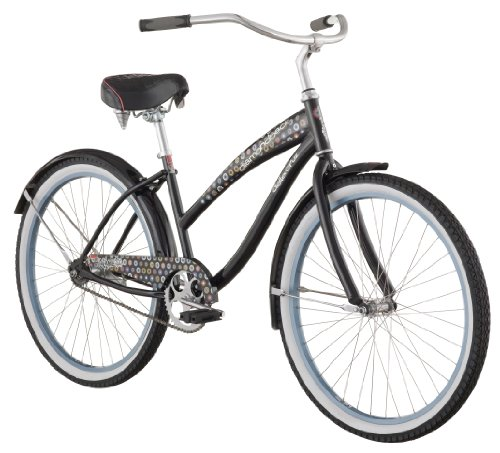 Diamondback 2013 Women's Della Cruz Beach Cruiser Bike with 26-Inch Wheels  (Cream, Womens)