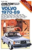 Chilton's Repair Manual Volvo 1970-89: All U.S. and Canadian Models of 1800E, 1800Es, 142S, 142E, 144S, 144E, 145S, 145E, 164, 164E, 242Dl, 242Gl, 242Gt, 244D (Chilton's Repair Manual (Model Specific))