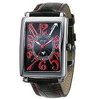 [ミッシェルジョルダン]michel Jurdain 腕時計 スポーツ ダイヤモンド レザー オールブラック メンズ SG3000-1 メンズ