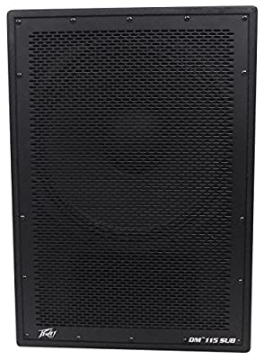 "Package: Peavey DM 115 15"" 1000W Painted Wood Active Powered PA Speaker+Digital DSP Dark Matter Force Cooled and Vented Base + Peavey PV 20' XLR Female to Male Low Z Mic Cable from Peavey"
