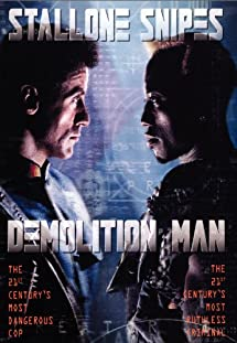 Demolition Man Cover