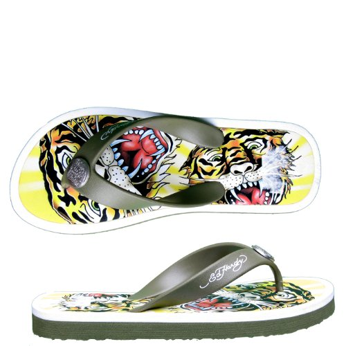 Seashell Flip Flops front-481237