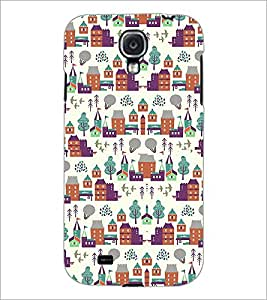 PrintDhaba Pattern D-2182 Back Case Cover for SAMSUNG GALAXY S4 (Multi-Coloured)