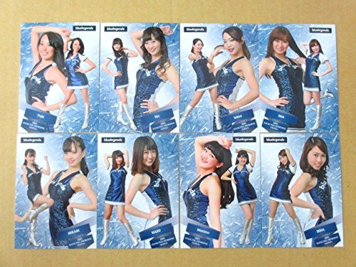 BBM2015プロ野球チアリーダー「華」◆西武/bluelegends◆レギュラーコンプ全8種≪ベースボールカード≫