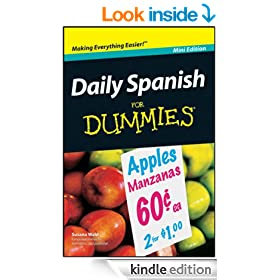 Daily Spanish For Dummies�, Mini Edition