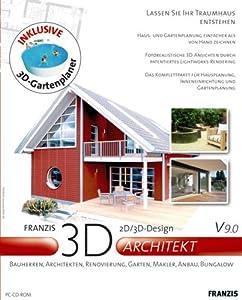 3d haus und garten architekt v 9 0 software. Black Bedroom Furniture Sets. Home Design Ideas