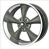 "Ridler Style 695 695 Grey Wheel with Machined Lip (20x8.5""/5x127mm)"