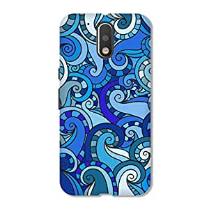 HAPPYGRUMPY DESIGNER PRINTED BACK CASE COVER FOR MOTO G4 PLUS ( 4 th GENERATION )