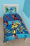 Carácter Mundial Cama W kit OSO cal, 91 cm, cama individual, estilo & quot; Transformers Disfraz & quot;, reversible, multicolor