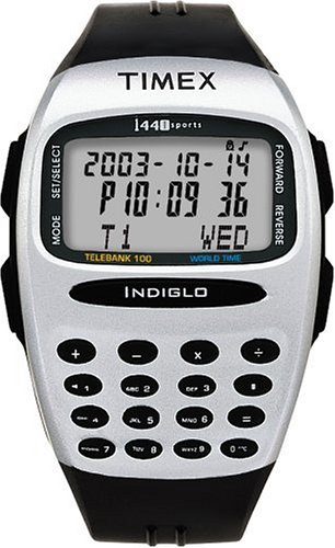 Buy Timex Men's 1440 Sports Telebank Worldtime Calculator Watch #T59451