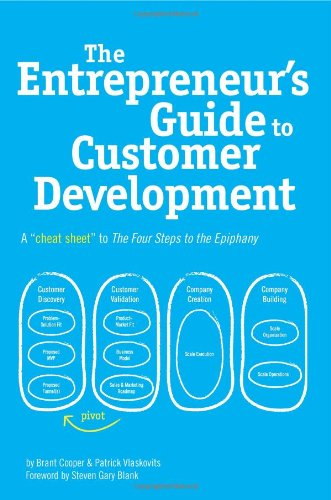 51PTI7ELW3L Podcast #99   The Entrepreneurs Guide to Customer Development lean