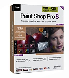 Jasc Paint Shop Pro 8 [OLD VERSION]