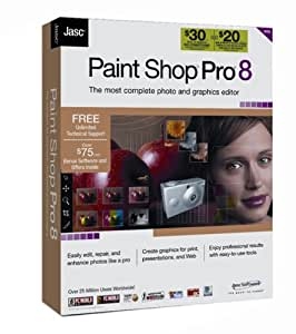 Jasc Paint Shop Pro 8 [OLD VERSION]