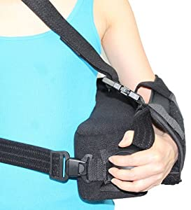 ITA-MED Super Arm Sling Shoulder Immobilizer with Abduction Pillow, Medium by ITA-MED