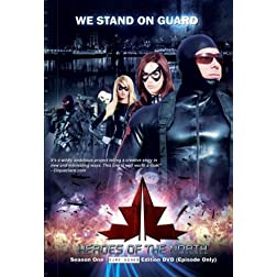 Heroes of the North Season One BareBones Edition DVD