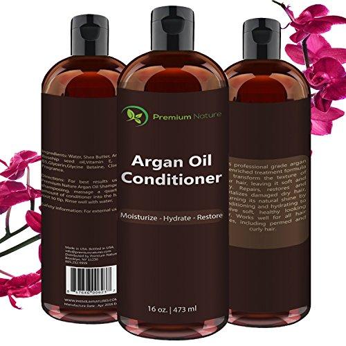 Argan Oil Hair Care Set By Premium Nature