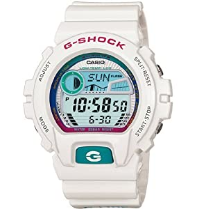 Casio G-Shock Watches GLX6900-7 WHITE BLUE