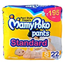 Mamy Poko Pant Style S Size Diapers (22 Count)