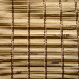 Woven Wood Roman Shades, 29W x 48H, Ashbury Camel
