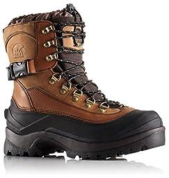 Sorel Men\'s Conquest Snow Boot, Bark, 13 M US