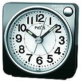 SEIKO CLOCK(セイコークロック) PYXISライト付き目覚まし時計(黒) NR437K