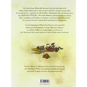 Die vier Jahreszeiten: Eine Geschichte zur Musik von Antonio Vivaldi (Musikalisches Bilderbuch mit C
