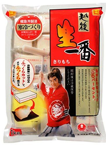 越後製菓 生一番 切り餅1Kg