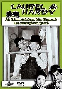Laurel & Hardy - Als Schornsteinfeger / Am Rande der Kreissäge / Das unfertige Fertighaus