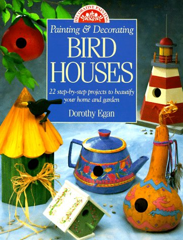 Painting and Decorating Birdhouses