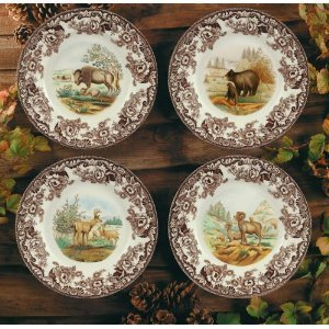 Amazon Com Spode Woodland American Wildlife Tableware