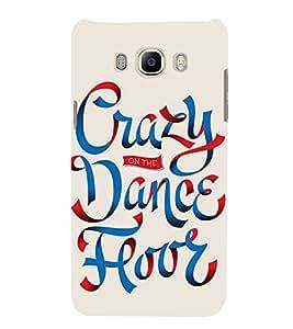 Crazy On Dance floor 3D Hard Polycarbonate Designer Back Case Cover for Samsung Galaxy On8
