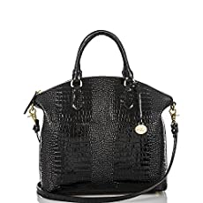 Large Duxbury Satchel<br>Black Majestic