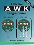 Effective AWK Programming (1578310008) by Robbins, Arnold