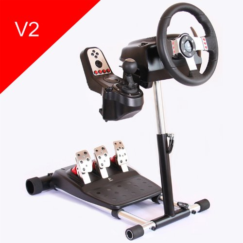 Wheel Stand Pro - Stand for Logitech G25/G27 Racing Wheel - DELUXE Black Friday & Cyber Monday 2014