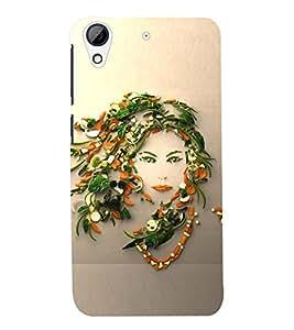 PRINTSWAG VEGETABLE GIRL Designer Back Cover Case for HTC DESIRE 626