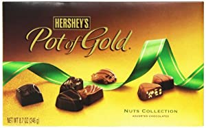 Hershey's Pot of Gold Assorted Chocolate Nuts Collection, 8.7-Ounce Boxes (Pack of 2)