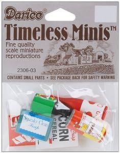 Darice Timeless Miniatures: Groceries