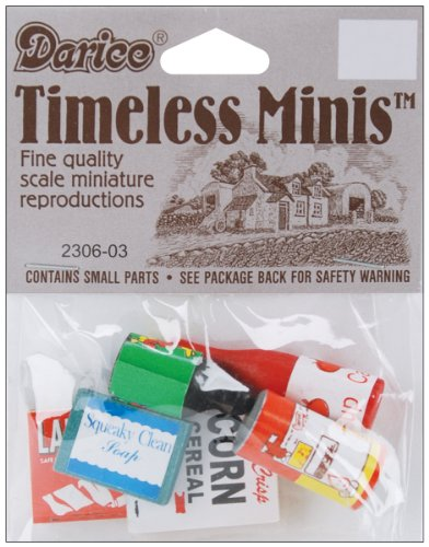 Darice Timeless Miniatures: Groceries - 1