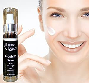 NEW Ageless Serum with Renovage® & Matrixyl® from Sublime Beauty®. Proprietary serum focuses on reducing the 8 main signs of aging. 89% of women said skin was improved after 30 days. Includes age-defying ingredients to reduce wrinkles, boost collagen levels, hydrate skin, reduce pores & age spots. Healthier skin! Buy now.