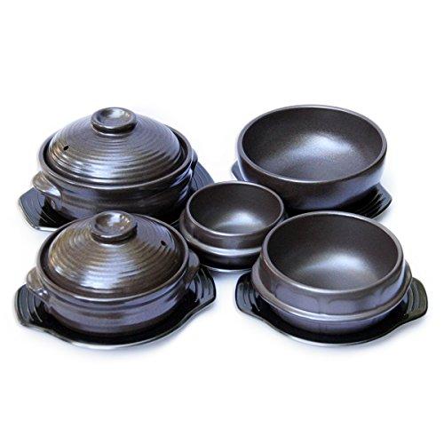 Ceramic Stone Cookware : Usa crazy korean cooking stone bowl dolsot