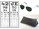 PGG Eyetrainer - Made In Germany Metal GOLD Quality Pinhole Glasses Vision Improvement