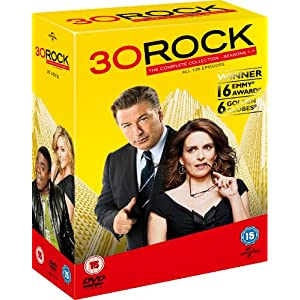 30 Rock - Complete Season 1-7 Box Set [Import anglais]