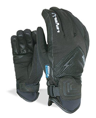 Level Guanti da adulto I Thunder, in Gore Tex, Uomo, Handschuhe I-Thunder Gore-Tex, nero, 8.5