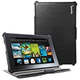Poetic StrapBack Case for All New Kindle Fire HD 7 2nd Gen (2nd Generation 2013 Model) 7inch Tablet Black (with...