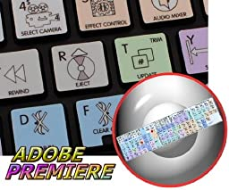 ADOBE PREMIERE GALAXY SERIES STICKER FOR KEYBOARD APPLE SIZE