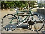 【送料無料】ピストバイク YONCa シングルスピード TOKYO CUSTOM 自転車(カラー:グリーン)