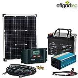 Solaranlage Autark XS-Master 50W Solar - 300W AC Leistung 12V