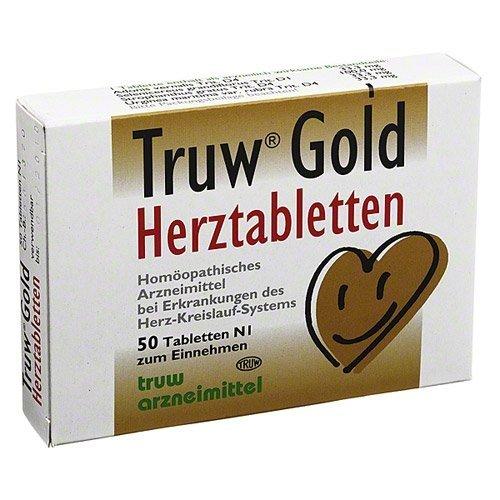Truw GOLD Herztabletten 50 St Tabletten by TRUW